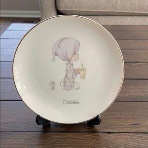 Precious Moments decorative plate